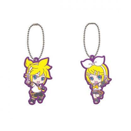 Gachapon 2018 Len & Rin Rubber Keychain 2pc
