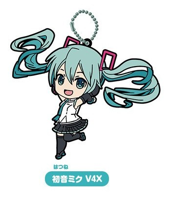 Gacha - Miku Selection 03 - Rubber Keychain