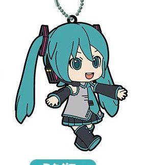 Gacha - Miku Selection 04 - Rubber Keychain
