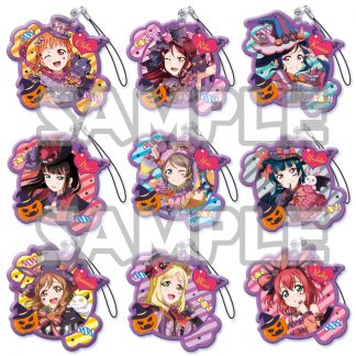 Gacha - Love Live Halloween Acrylic Dangler 4pc (Randomly Packed)