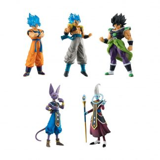 Dragon Ball Super Broly Movie Banpresto Gachapon 5pc Set