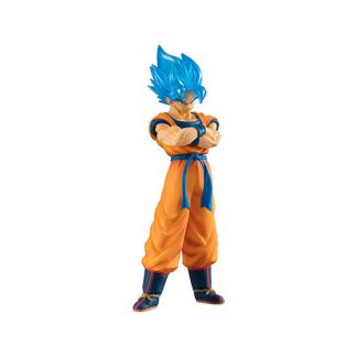Dragon Ball Super Broly Movie Goku SSJ Blue Figure Gachapon