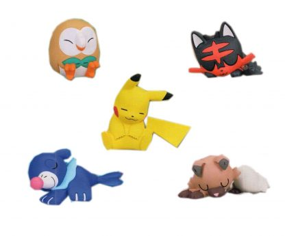 Pokemon Sun & Moon - Sleeping Pikachu, Starters (Random)