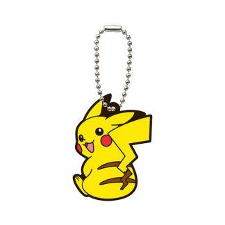 Gacha Pokemon Rubber Keychain Pikachu
