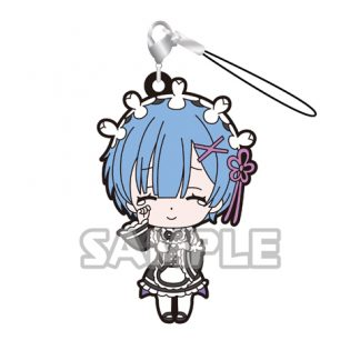 Re:Zero Rubber Dangler Type 1 Rem