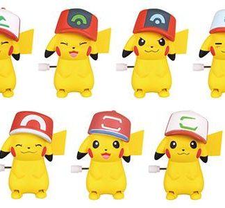Gacha - Pokemon Pikachu with Hat (Twist Action)