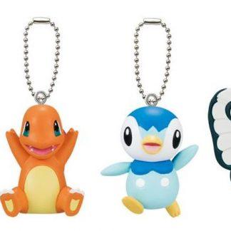 Gacha - 4pc Pokemon: I choose you! Movie 20th Keychains