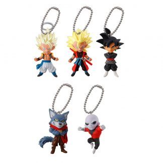 5pc Dragon Ball Super UDM Burst 26 Keychain