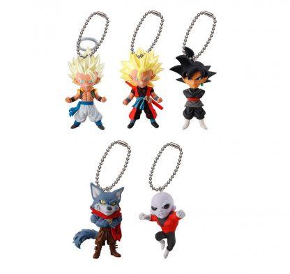 5pc Dragon Ball Super UDM Burst 26 Keychain
