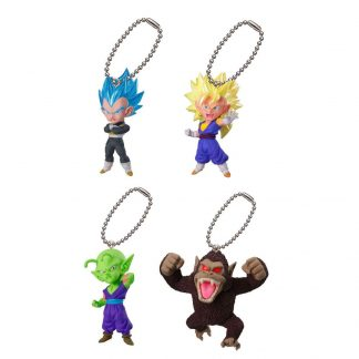 4pc Dragon Ball Super UDM 02 Keychain