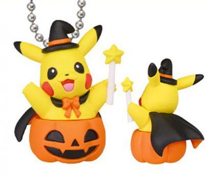 Gacha - Pokemon Halloween 1 Pikachu Keychain