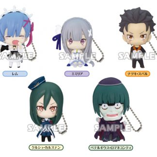 Gachapon Re:Zero Keychain Collection 02 5pcs