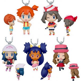 Gacha - 5pc Girls of Pokemon Minis Collection