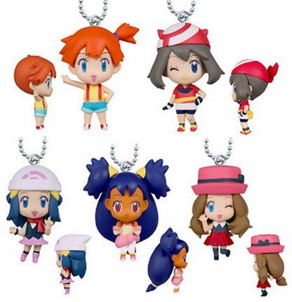 Gacha - 5pc Girls of Pokemon Minis Collection