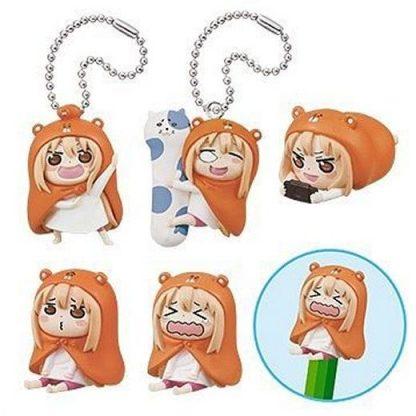 Gacha - 5pc Umaru-chan Mascot Figure