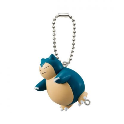 Pokemon Pinched Clips Snorlax Gachapon