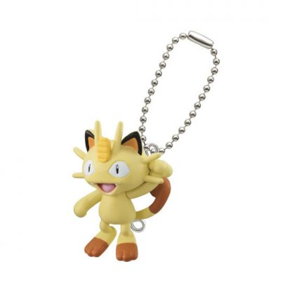 Pokemon Pinched Clips Meowth Gachapon