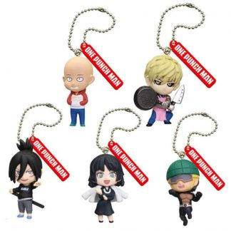 Gacha -One Punch Man Mascot Keychain (6pc)