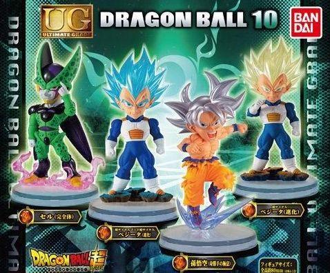 Dragaon Ball Super UG 10 Vegeta SSJ Super Saiyan Gacha