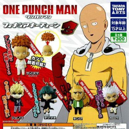 Takara Tomy - One Punch Man Mascot 03 Keychain (5pc) (Gacha)