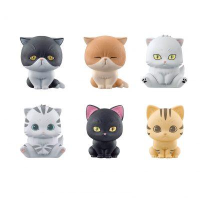 Chibi Cats Figure x Clip (Gacha)