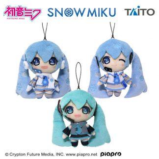 TAITO Hatsune Miku Snow Miku Plush (3 Types)