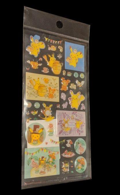 Pokemon Centre Tokyo - Alola Themed Pokemon Clear Sitckers