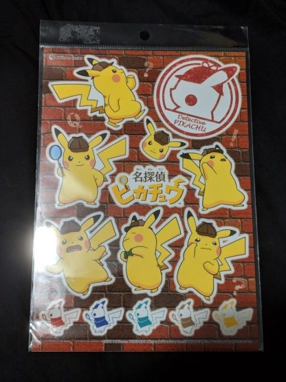 Pokemon Centre Tokyo - Detective Pikachu Stickers