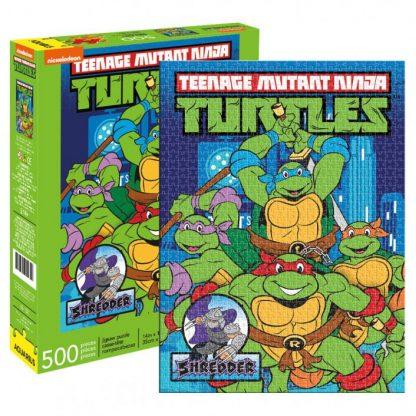 Teenage Mutant Ninja Turtles New York Puzzle 500 pieces