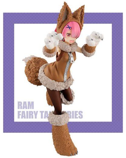 FURYU - Re:Zero Ram SSS Wolf and Seven Little Goats