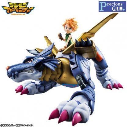 G.E.M. Digimon Adventure - Metal Garurumon & Ishida Yamato
