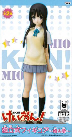 K-On! Assembly Style Figure - Mio Akiyama