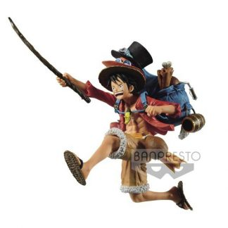 One Piece - Three Brothers Figure - MONKEY.D.LUFFY