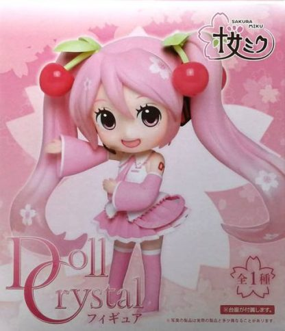 Sakura Miku Doll Crystal Figure