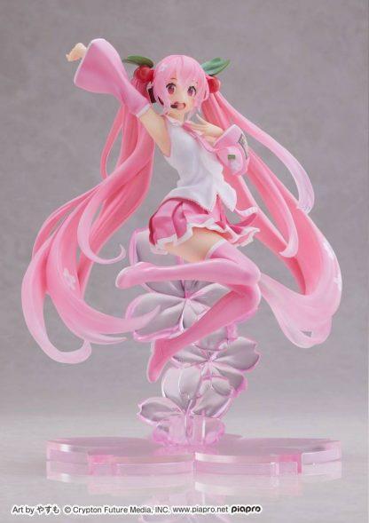 Sakura Miku Kuji A Prize - New Illustration Figure - Cherry Blossom ver.