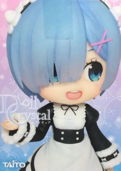 TAITO Re: Zero Memory Snow - Rem Doll Crystal Figure