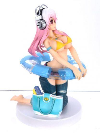 Super Sonico-chan Seikatsu Micchaku Shuzai Special Figure Natsu no Omoide
