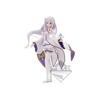 Emilia Figure - B - Re:Zero - Story is to Be Cont.