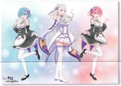 B2 Poster - Re:Zero - Story is to Be Cont.