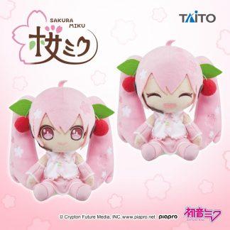 TAITO Hatsune Miku - Sakura Plush 2020 Ver