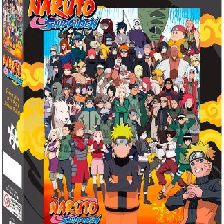 Impact Puzzle Naruto Shippuden Cast 1,000 pieces