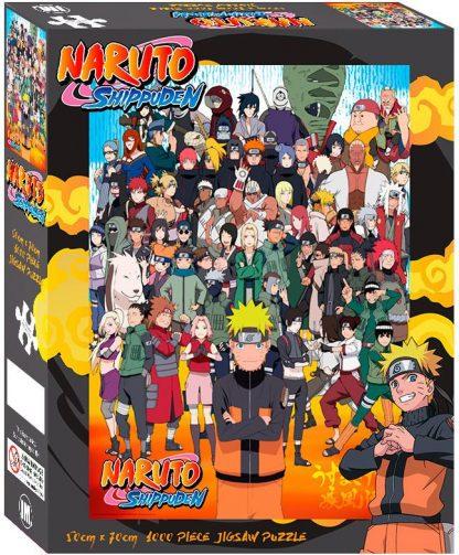 Impact Puzzle Naruto Shippuden Cast 1,000 pieces